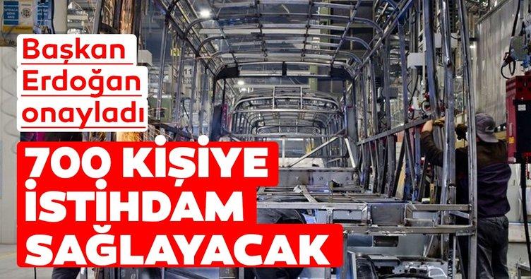 MAN Türkiye AŞ'nin Akyurt'taki yeri Münferit Yatırım Yeri olarak ilan edildi