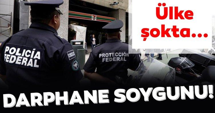 Meksika'da darphane soygunu