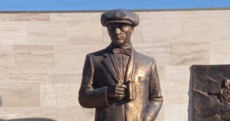 Son dakika haberi: Antalya'da Atatürk'ün büstü ve heykeline saldırı