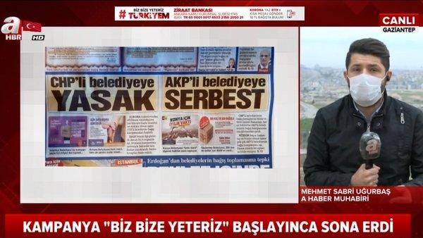 Sözcü Gazetesi'nden 'Biz bize yeteriz Türkiyem' yardım kampanyası ile ilgili skandal yalan haber   Video