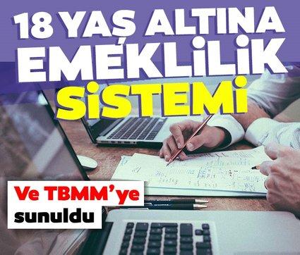 Son dakika haberi... TBMM'ye sunuldu: 18 yaş altına bireysel emeklilik sistemi...