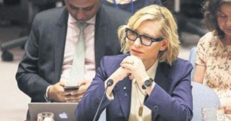 Cate Blanchett'den Myanmar çağrısı