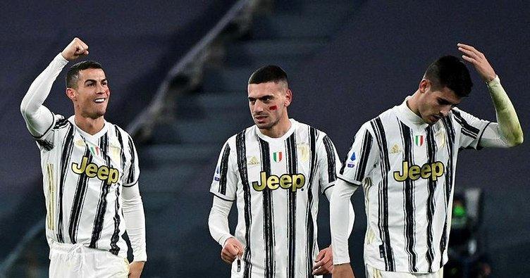 Juventus Cagliari engelini Cristiano Ronaldo'nun golleriyle aştı