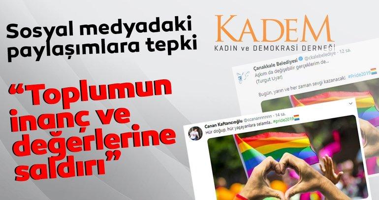 KADEM'den sosyal medyadaki paylaşımlara tepki