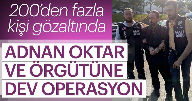Son dakika: Adnan Oktar ve örgütüne dev operasyon! Adnan Hoca ve kedicikleri gözaltında