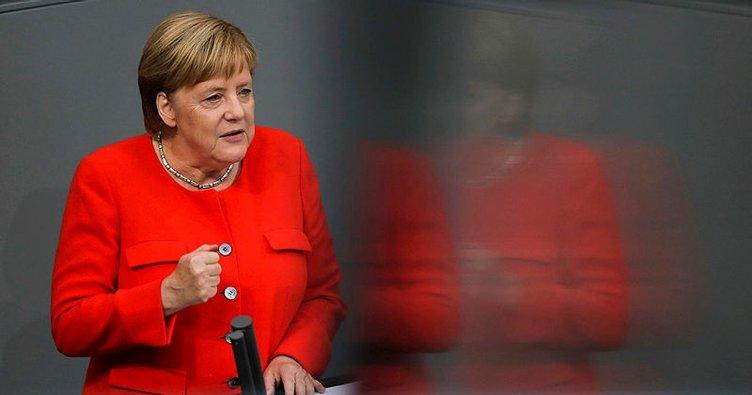 Son dakika:Merkel'den Suriye açıklaması!