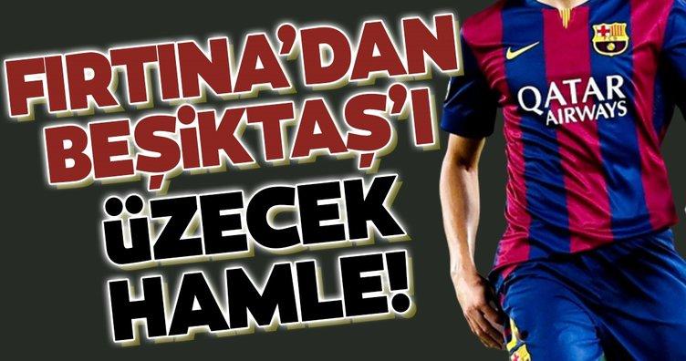 Trabzonspor'dan Beşiktaş'ı üzecek hamle!