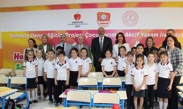 Ali Ülker: 'Çocuklarımız dengeli beslenerek sağlıklı büyüyecek'