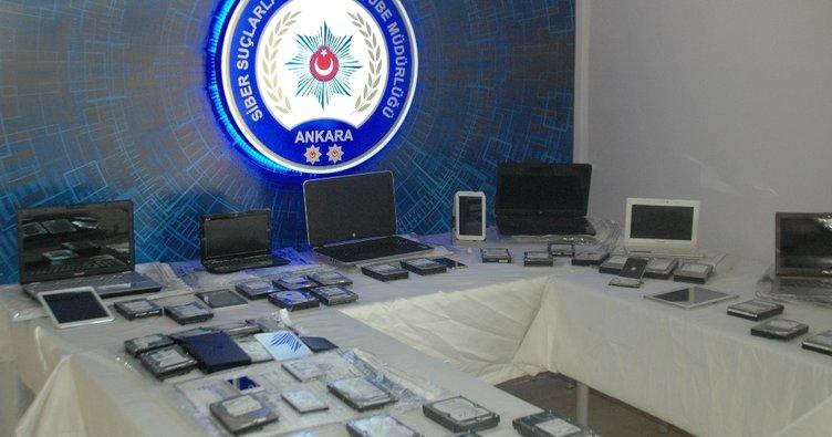 İnternetten çocuk istismarına 15 gözaltı
