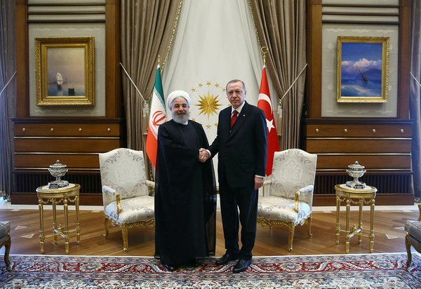 İran Cumhurbaşkanı Hasan Ruhani Ankara'da