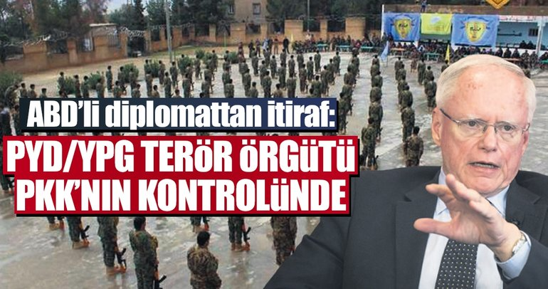 PYD/YPG örgütü PKK'nın kontrolünde