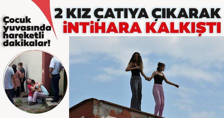 Son dakika! Samsun'da dehşet anları! Kızlar intihara kalkıştı