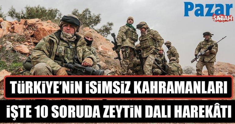 Türkiye'nin isimsiz kahramanları