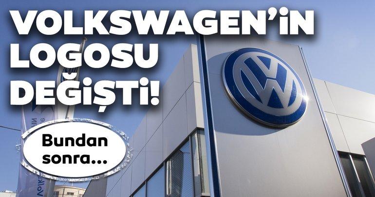 Volkswagen logosunu değiştirdi! Bundan sonra...