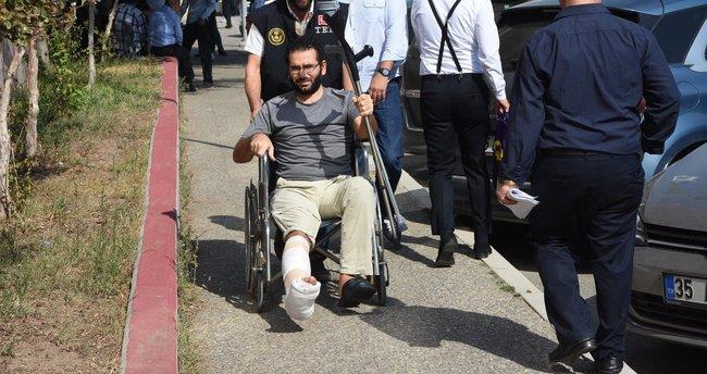 Kaçarken ayağı kırılan savcı tutuklandı