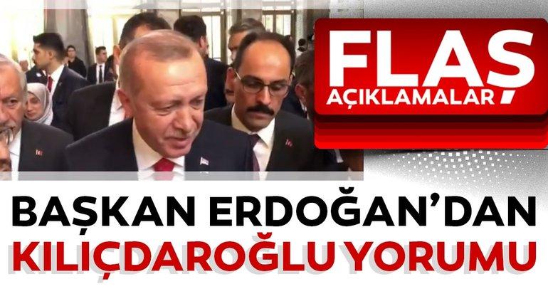 Başkan Erdoğan'dan Kılıçdaroğlu'na saldırı yorumu: Şehit cenazelerinde dikkat etmemiz, cenaze sahibine sormamız gerekir