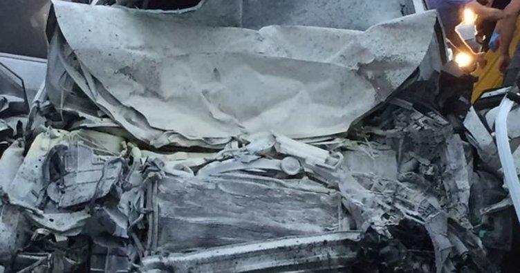 Trabzon'da zincirleme kaza: 3 ölü, 8 yaralı