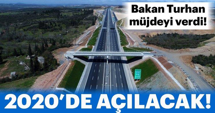 Bakan Turhan: Kuzey Marmara Otoyolu, 2020'de hizmete açılacak!