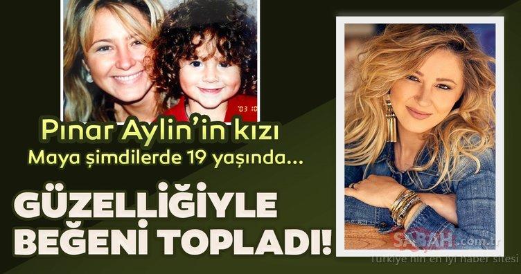 Şakırıcı Pınar Aylin'in 19 yaşındaki kızı Maya güzelliğiyle büyüledi! Pınar Aylin'in anne-kız pozuna beğeni yağdı...