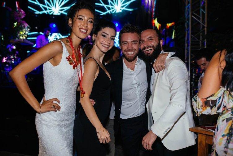 Merve Boluğur ile Murat Dalkılıç'ın az bilinen kareleri