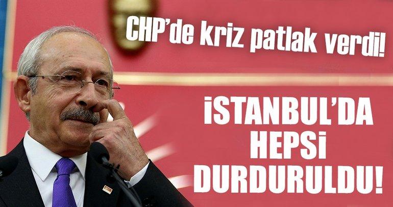 Son dakika: CHP'nin İstanbul'daki kongreleri durduruldu