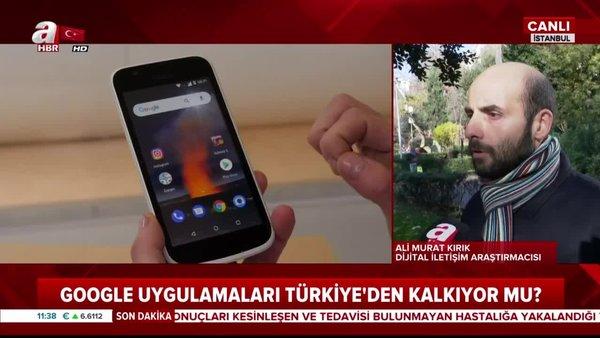 Google Türkiye'den gidiyor mu? Google uygulamaları Türkiye'den kalkıyor mu?