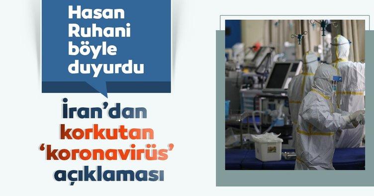 Son dakika: İran'dan korkutan coronavirüs açıklaması: Hasan Ruhani duyurdu