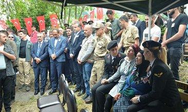 Jandarma Genel Komutanı Çetin'den şehit ailesine intikam sözü
