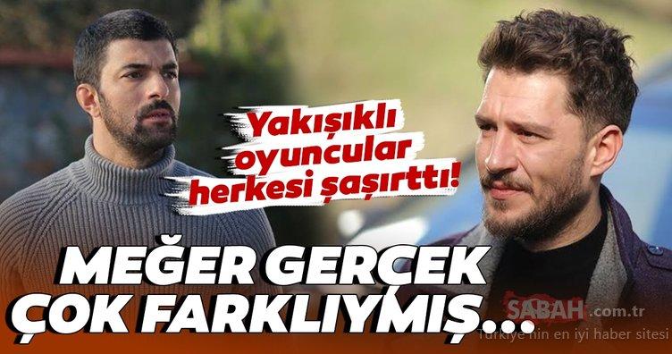 Sefirin Kızı oyuncuları Engin Akyürek ve Uraz Kaygılaroğlu herkesi şaşırttı! Sefirin Kızı dizisinde efeler ama...