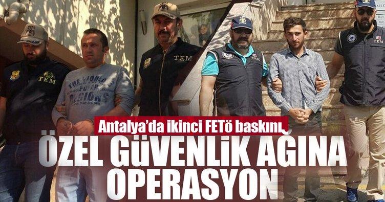 FETÖ'nün özel güvenlik ayağına operasyon: 20 gözaltı