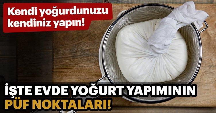 Doğal manda yoğurdu nasıl yapılır? Doğal manda yoğurdu tarifi...