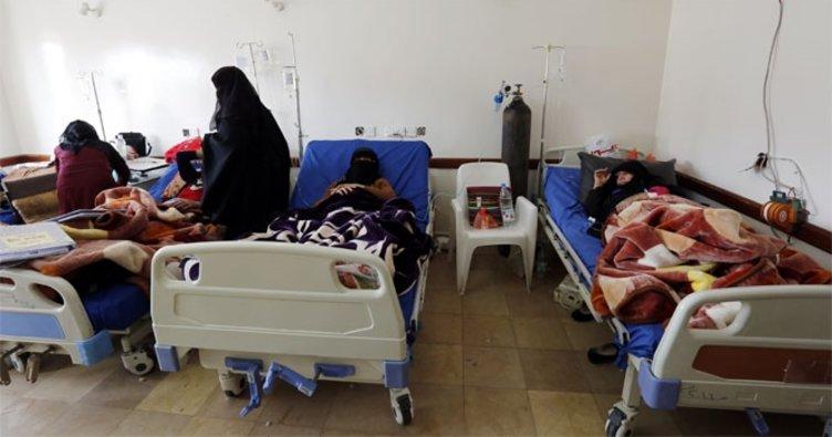 Yemen'de kolera salgını nedeniyle 115 kişi öldü