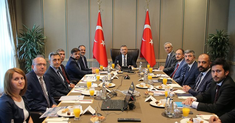 e-Devlet Değerlendirme toplantısı Cumhurbaşkanı Yardımcısı Oktay başkanlığında yapıldı