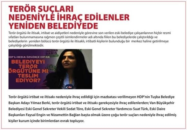 İçişleri Bakanlığı açıkladı! İşte HDP'li Diyarbakır, Van ve Mardin Büyükşehir Belediye Başkanlarının görevden alınma gerekçeleri