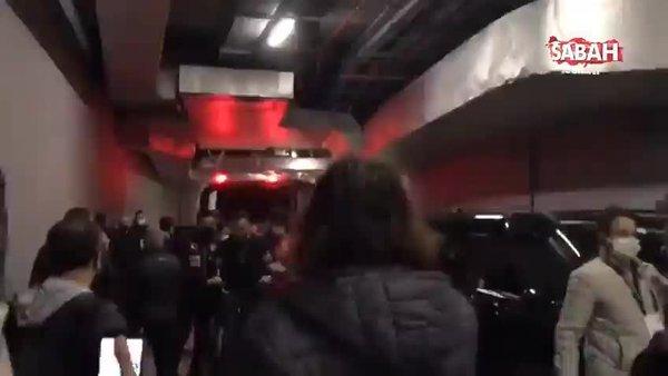 Son dakika: Beşiktaş'ın yıldızı Ghezzal'ın menajeri Hakan Korkmaz böyle gözaltına alındı! Ndao ile kavga etti | Video