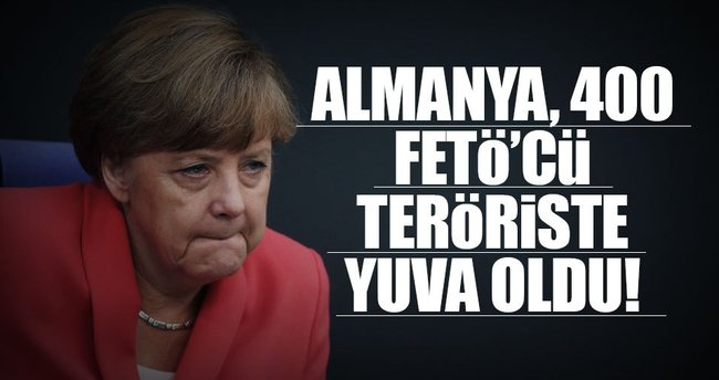 Almanya, 400 FETÖ'cü teröriste yuva oldu