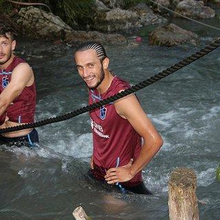 Trabzonspor idman sonrası dereye