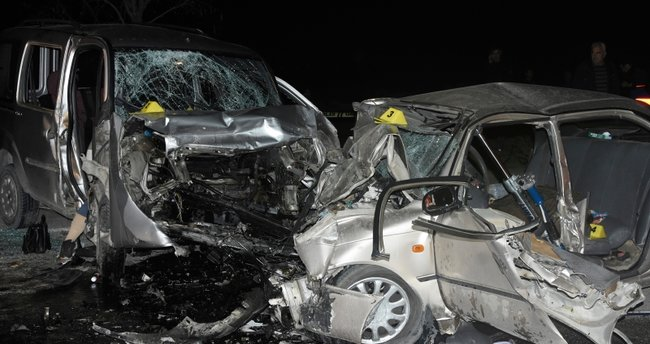 Konya'da, eş olan 4 kişinin öldüğü kazada Adem de kurtarılamadı