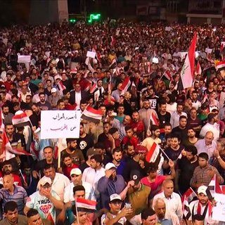 Sadr yanlılarından Irak'ın 'ABD-İran çekişmesinden uzak tutulması' çağrısı