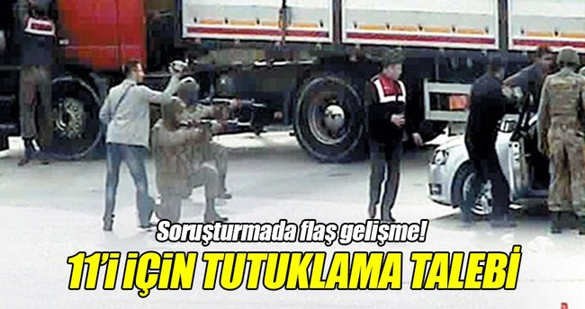 MİT TIR'ları soruşturmasında 11 muvazzaf askere tutuklama talebi!