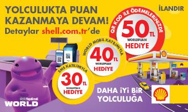 Shell'de Puan Kazanmaya Devam