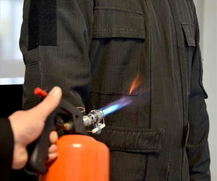 Türk bilimi yanmayan elbiselerde yüksek teknoloji üretti