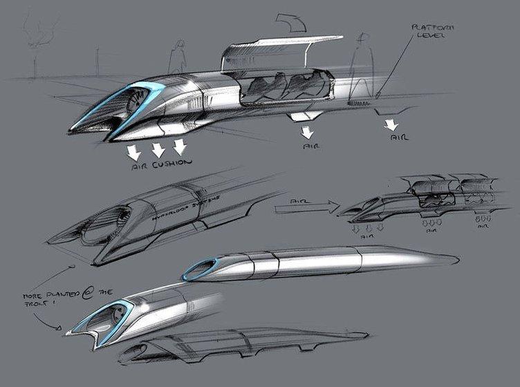 Saatte 1300 km hızla ulaşım projesi: Hyperloop