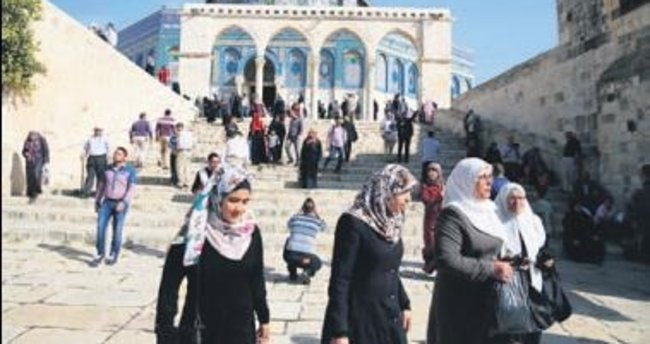 Türkler, Mescid-i Aksa'nın gururu