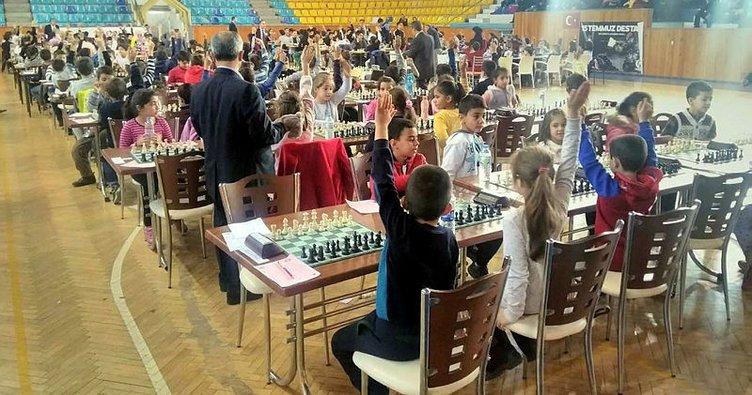 Kırıkkale'de satranç turnuvası