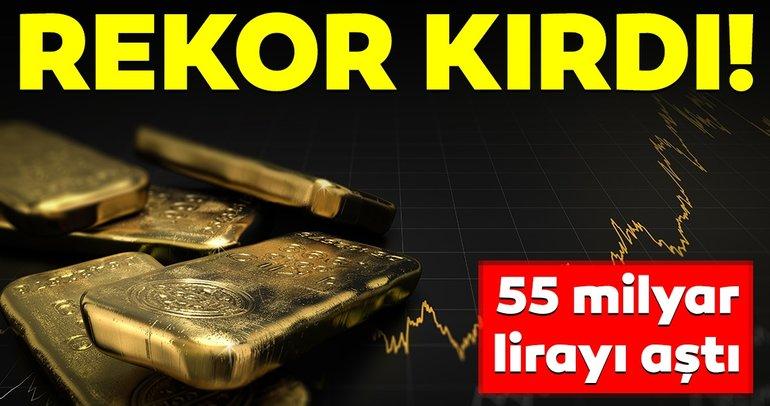 Altın hesapları 55 milyar lirayı aştı!