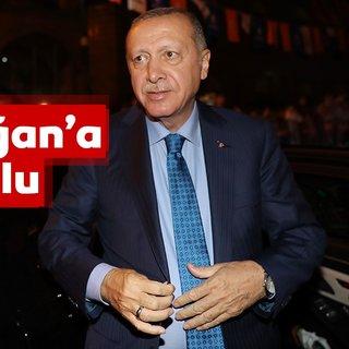 Başkan Erdoğan memleketi Rize'de coşkuyla karşılandı