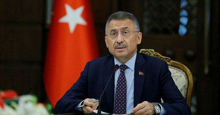 Cumhurbaşkanı Yardımcısı Oktay, Mareşal Raşid Dostum'u kabul etti