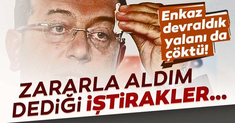 Ekrem İmamoğlu'nun yalan siyaseti devam ediyor! Zararla aldım dediği iştirakler bir kuruş bile zarar etmemiş!