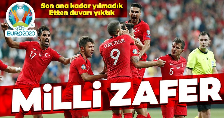 Milliler Andorra'yı tek golle devirdi!